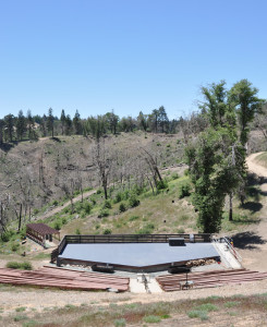 ampitheater view